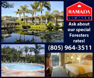 Ramada Limited - Official Hotel of the Santa Barbara Foresters!