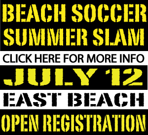 Santa Barbara Beach Soccer Summer Slam