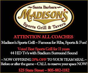 25% off team meals at Madisons
