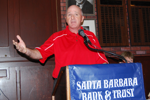 SBCC head coach Craig Moropoulos speaks about his team's stunning upset of Canyons on Saturday.