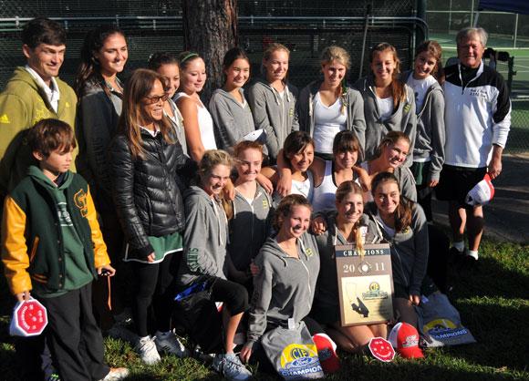Santa Barbara Dons girls tennis team