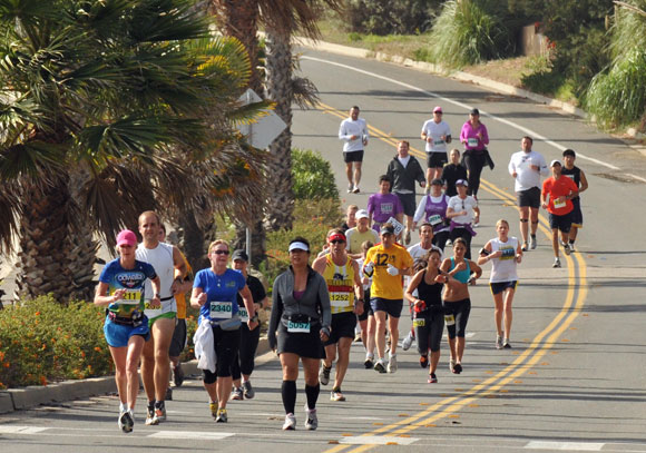 There are running events in Santa Barbara every month of the year.
