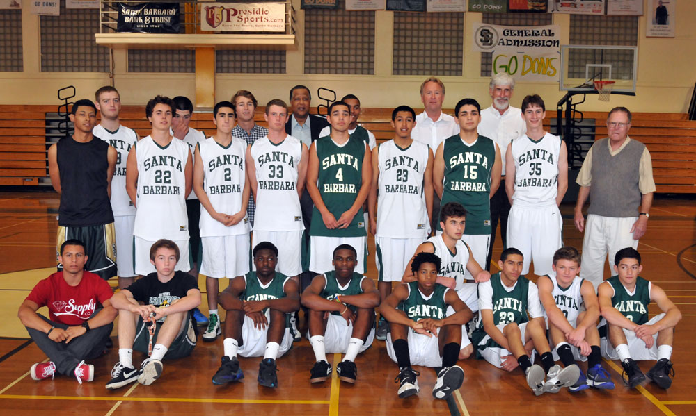 Santa Barbara High boys basketball