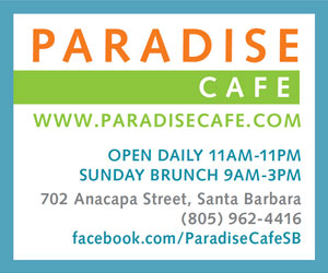 Paradise Cafe has been serving Santa Barbara since 1983.