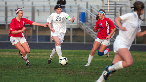 Dos Pueblos' Jamie Benedetto's second-half goal earned the Chargers a draw. (Presidio Sports Photo)