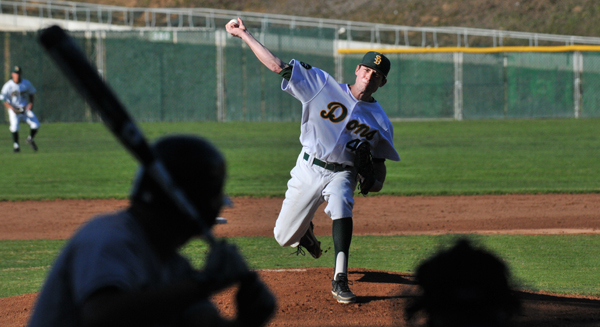 Santa Barbara High's Evan Smith started the season opener, striking out five batters in four innings.
