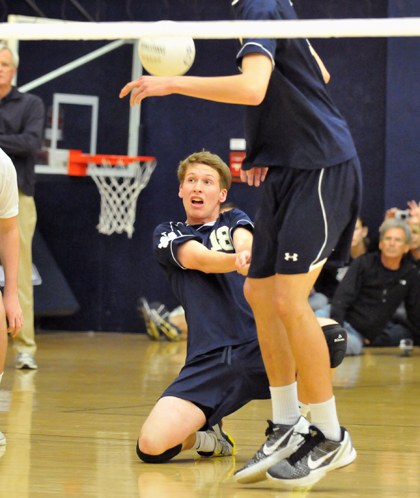 Dos Pueblos swept through pool play and reached Saturday's semifinals
