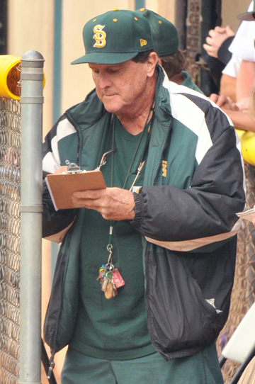 Santa Barbara High baseball coach George Rempe