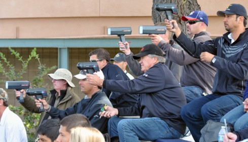 A handful of scouts with radar guns were at Thursday's game to watch Speier pitch.