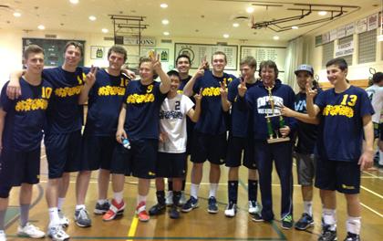 Dos Pueblos junior varsity boys volleyball team
