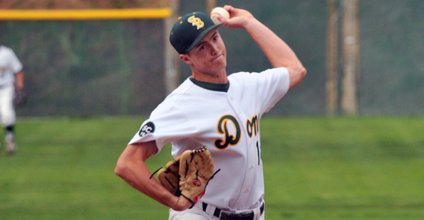 Santa Barbara High lefty Gabe Grancolas picked off three base runners in one inning on Tuesday.