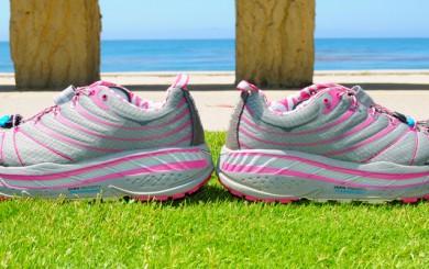The Hoka One One running shoe