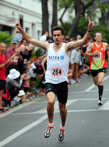 Michael Coe set the State Street Mile course record last year.