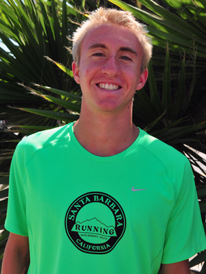 Cuyler Gabriel is a standout swimmer for Santa Barbara High