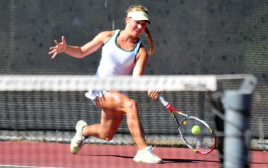 Madison Hale - Santa Barbara High Tennis