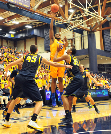 UCSB's Alan Williams led all scorers with 24 points.