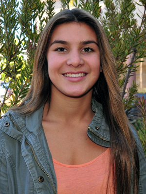 Amber Melgoza led Santa Barbara High to the championship at the Lompoc Tournament.