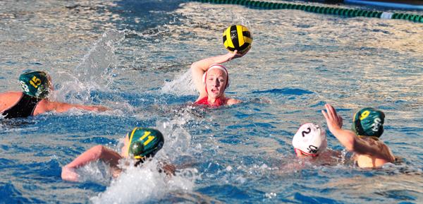 Paige Hauschild  scored seven goals to lead San Marcos over Santa Barbara.