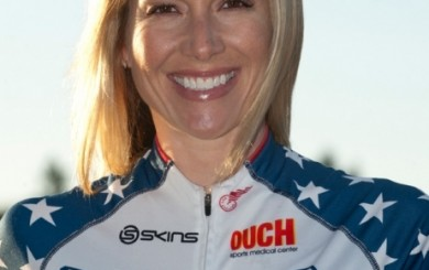 Dotsie Bausch - Olympic Cyclist
