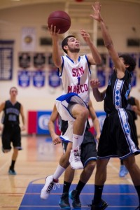 Marcos Alvarado scored 11 points for the Royals. (Cummingsproductions.com)