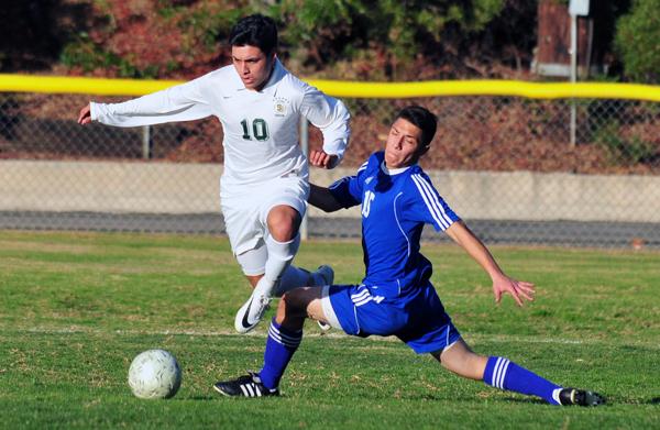 Pepe Barron - Santa Barbara High Soccer