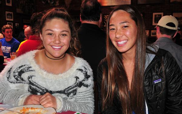 Kristina Garcia & Sienna Goggia - Santa Barbara High Water Polo