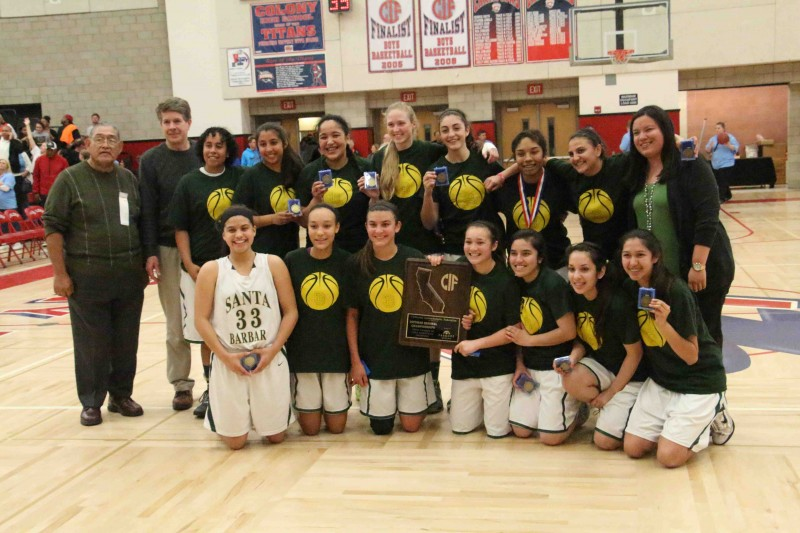 Santa Barbara High's girls basketball team won the CIF Regional title and will now play for a state championship.