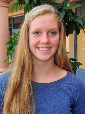 Shannon Cleary, DP's Scholar-Atthlete of the Year.