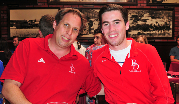 """Bishop Diego volleyball coach said Grant Sexton """"has been a rock for us."""""""