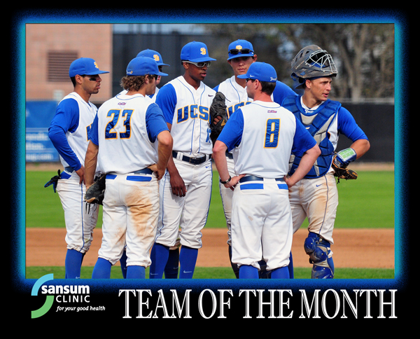 UCSB Baseball - Team of the Month