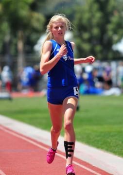 San Marcos freshman Erica Schroeder won the Division 3 800 meters.