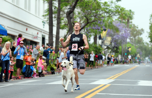 The State Street Mile includes the unofficial dog mile world championship. (Presidio Sports Photos)