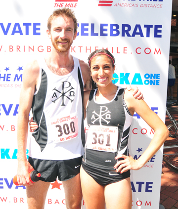 Dawson Vorderbruegge and Marina Vorderbruegge were 4th and 1st in the men's and women's elite race, respectively.