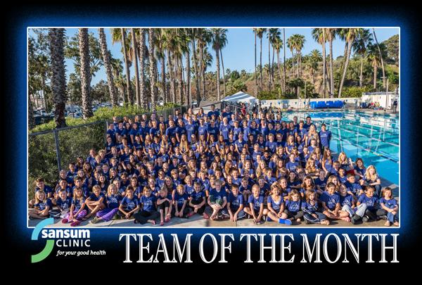 Santa Barbara Swim Club - Team of the Month