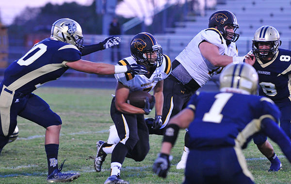 Dos Pueblos vs. Newbury Park Football