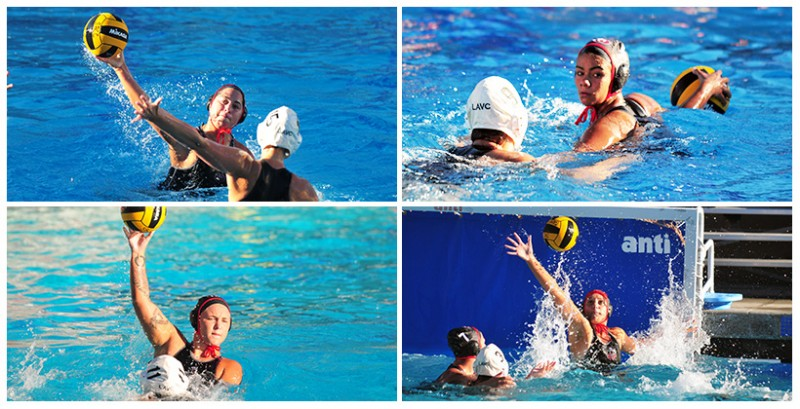 Santa Barbara City College's first women's water polo team features a handful of former local prep stars.