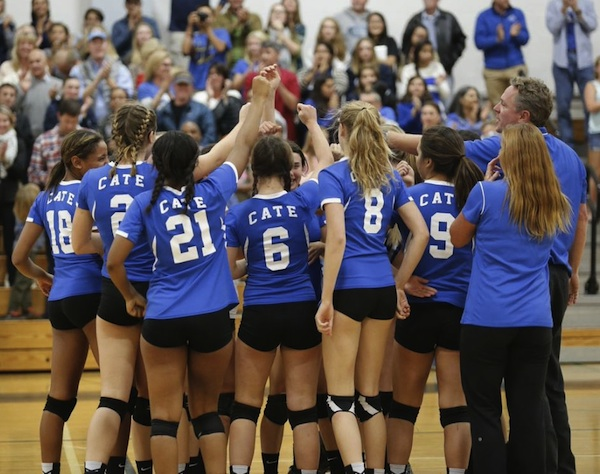 Cate is trying to bring home the school's first CIF volleyball title since 1991.