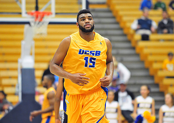 UCSB's Alan Williams scored 24 points and grabbed 15 rebounds in Friday's Big West semifinal.