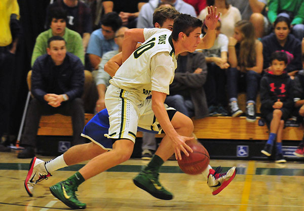 Santa Barbara High senior Bolden Brace is headed to Northeastern. (John Dvorak/Presidio Sports Photo)