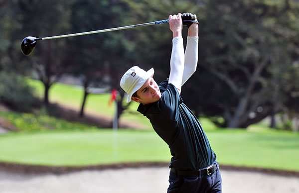 Brandon Crane was co-medalist for Santa Barbara on Thursday.