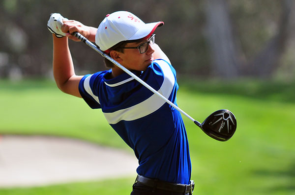 San Marcos' Chad Visser was medalist at Montecito Country Club on Tuesday. (Presidio Photo)