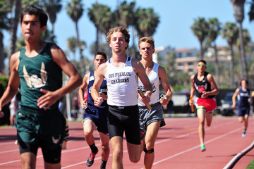 Chris Wasjutin ran on distance relay teams for Dos Pueblos.