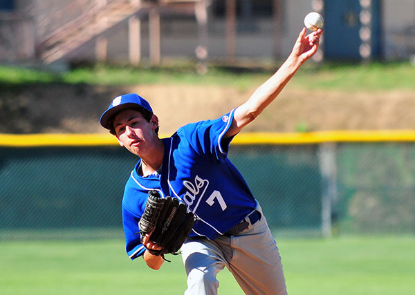 Sophomore Ian Churchill got the start for San Marcos in the Channel League opener.