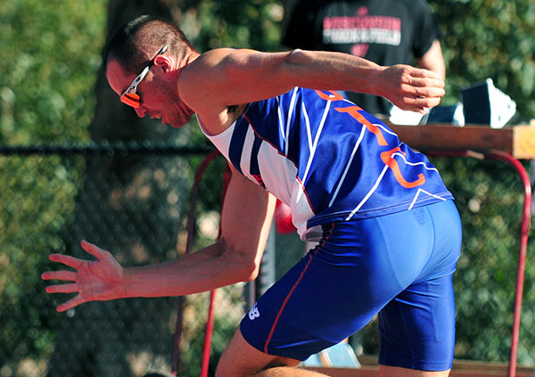 Tom FitzSimons won the decathlon at the 2015 Sam Adams Combined Events Invitational.