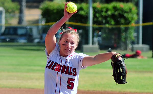 Bishop Diego's Isabella Gregson clubbed a grand slam in Tuesday's CIF win.  (Presidio File Photo)