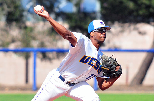 UCSB pitcher Dillon Tate has been one of the best hurlers in college baseball this year. (Presidio Sports Photo)