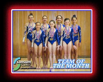 Team of the Month - Spirals Gymnastics of Santa Barbara
