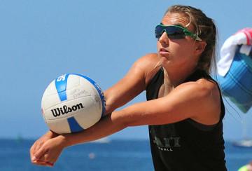 Katie Spieler has won four CBVA tournament titles this summer.