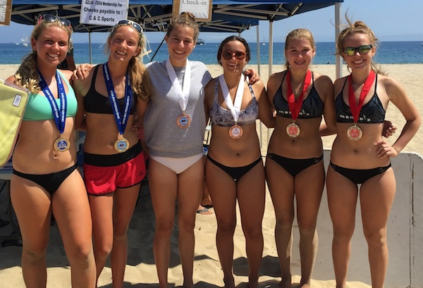 Erika Foreman/Linnea Skinner won the Girls 16U title; Louisiana's Alexis Toney/Danna Milayne took second and Hannah Rogers/Isabel Bassi finished third.