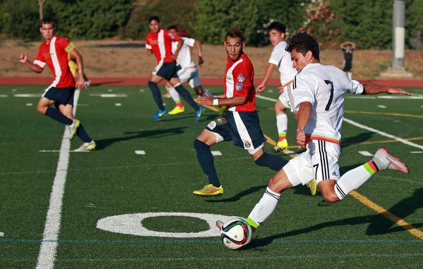Santa Barbara Soccer Club vs. Mexico U17